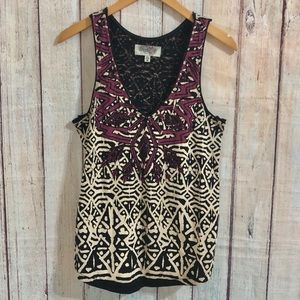 Urban Outfitters Ecote beaded tank